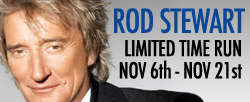 Rod Stewart at Caesars Palace – November